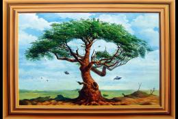 アフリカの木(隠し絵シリーズ)