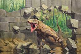 コモドドラゴン(3Dポストカード)
