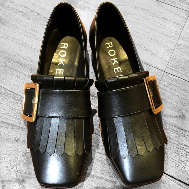 【ROKER 】Hampden loafer with buckle