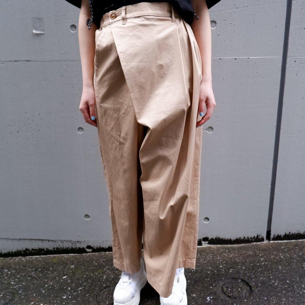 【DESPERADO+MAS】asymmetry pants +