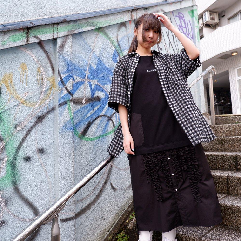 ー【DESPERADO+MAS】 gingham see-through shirt