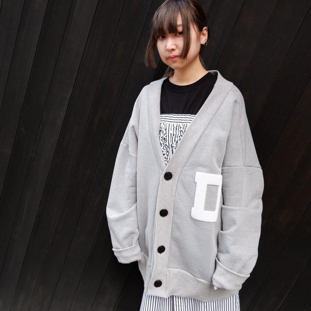 【DESPERADO+MAS】 oversized cardigan(COLOR: GRAY , BLACK)