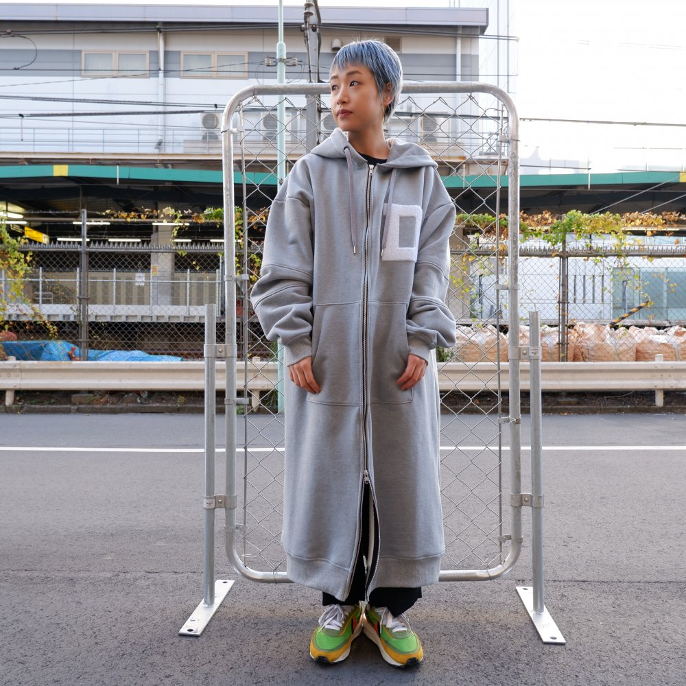 【DESPERADO+MAS】 zipup long hoodie coat