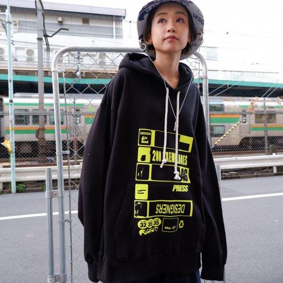 +【BODYSONG.】HOODIE/PRESS