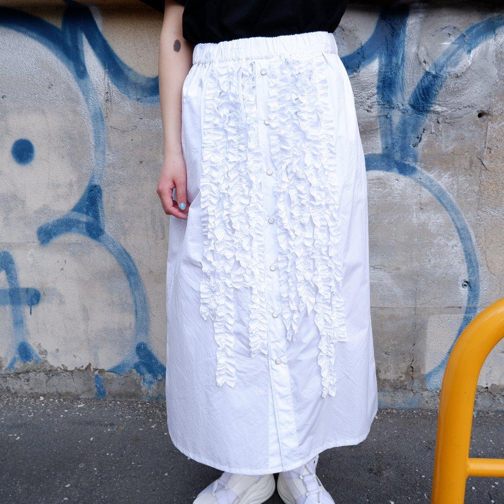 +【DESPERADO+MAS】FRILL SKIRT(Color:STRIPE/ WHITE /BLACK)