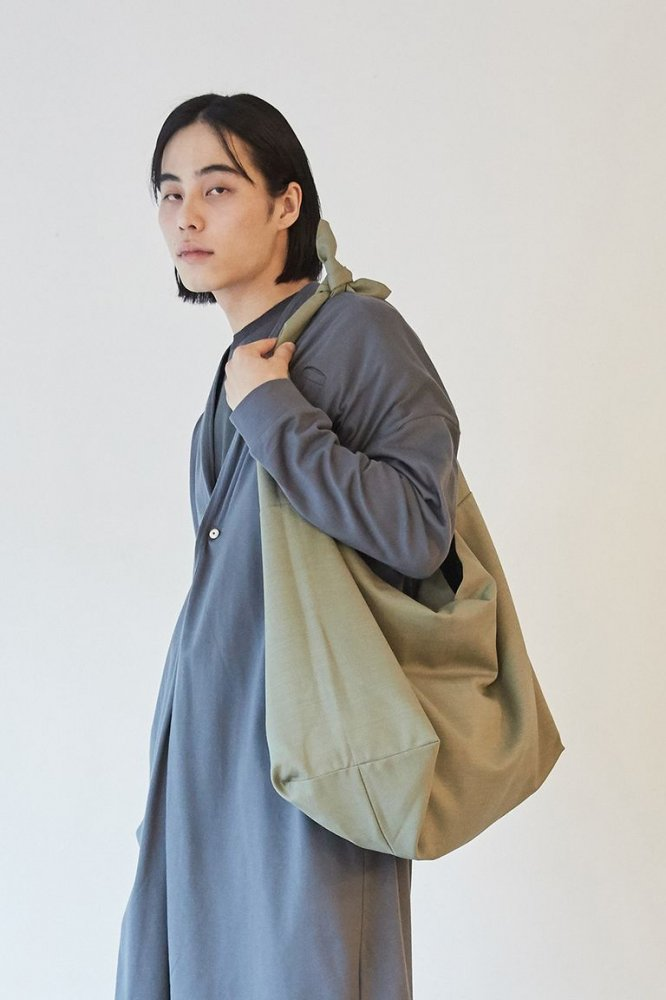 +【DULCAMARA】よそいきトートBAG(GREEN)