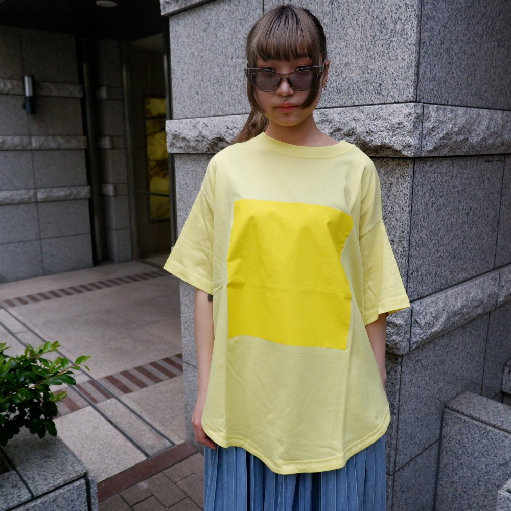 【RIDDLEMMA】Circle print T-shirt YE×YE