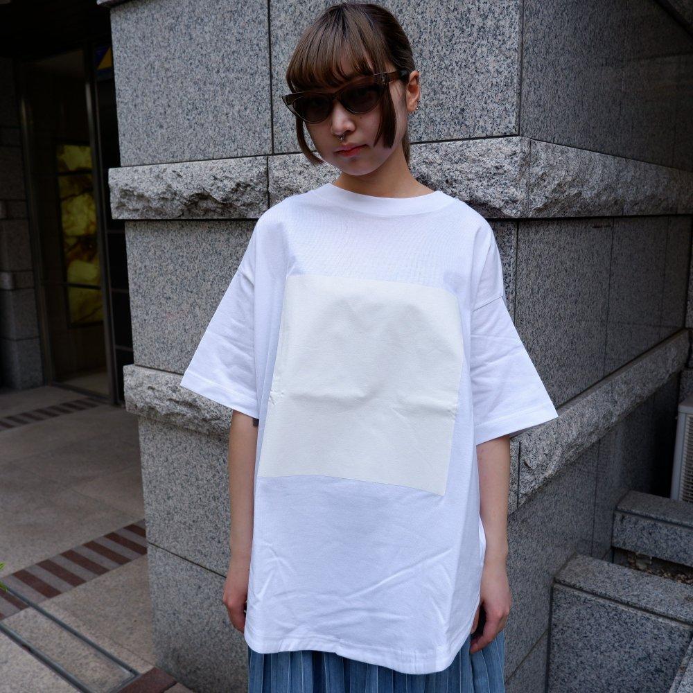 【RIDDLEMMA】Circle print T-shirt WH×WH