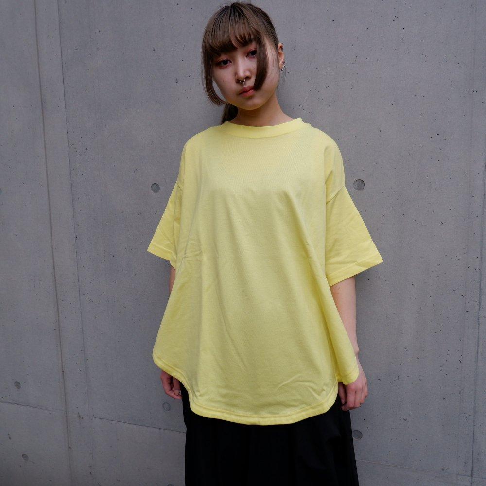【RIDDLEMMA】Circle  T-shirt Φ80 YELLOW
