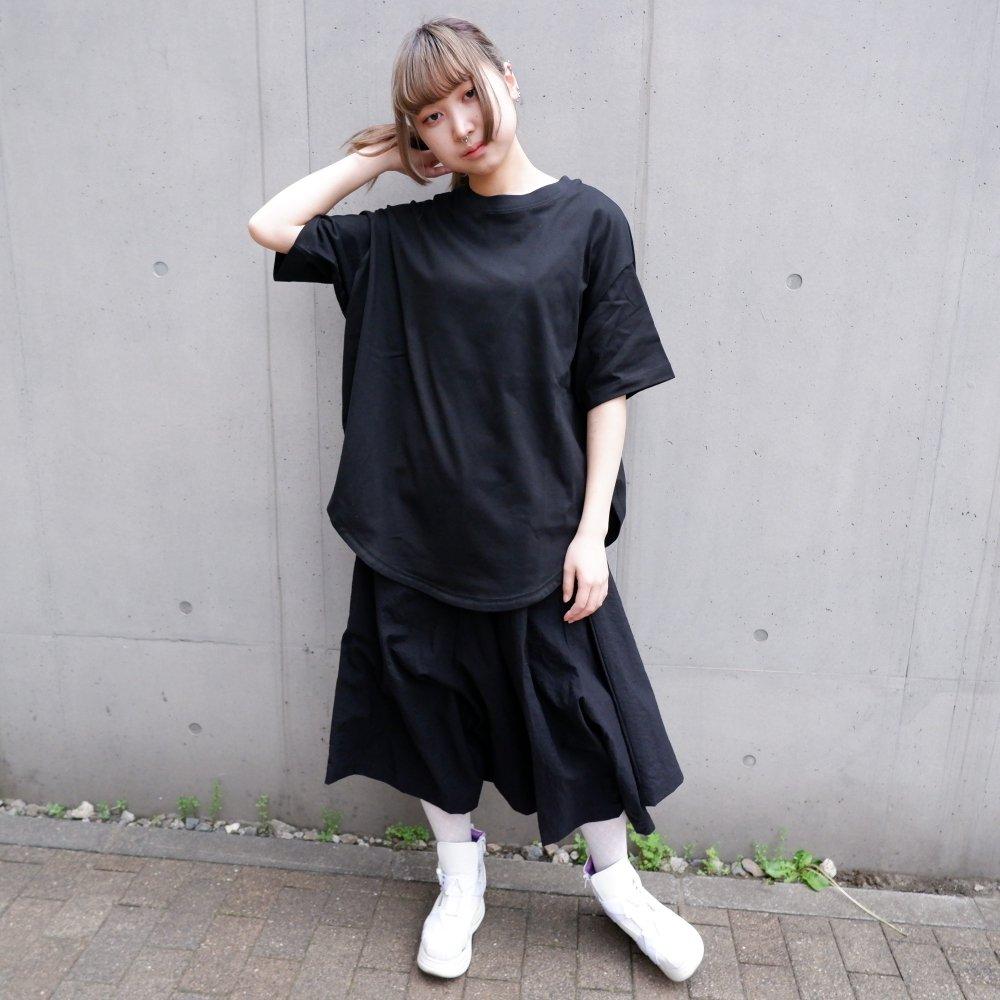 【RIDDLEMMA】Circle  T-shirt Φ80 BLACK