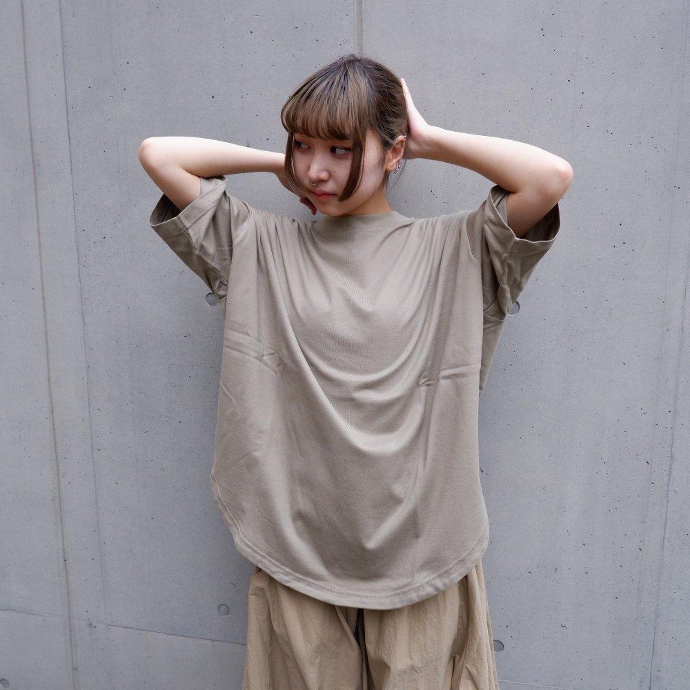 【RIDDLEMMA】Circle  T-shirt Φ80 KHAKI