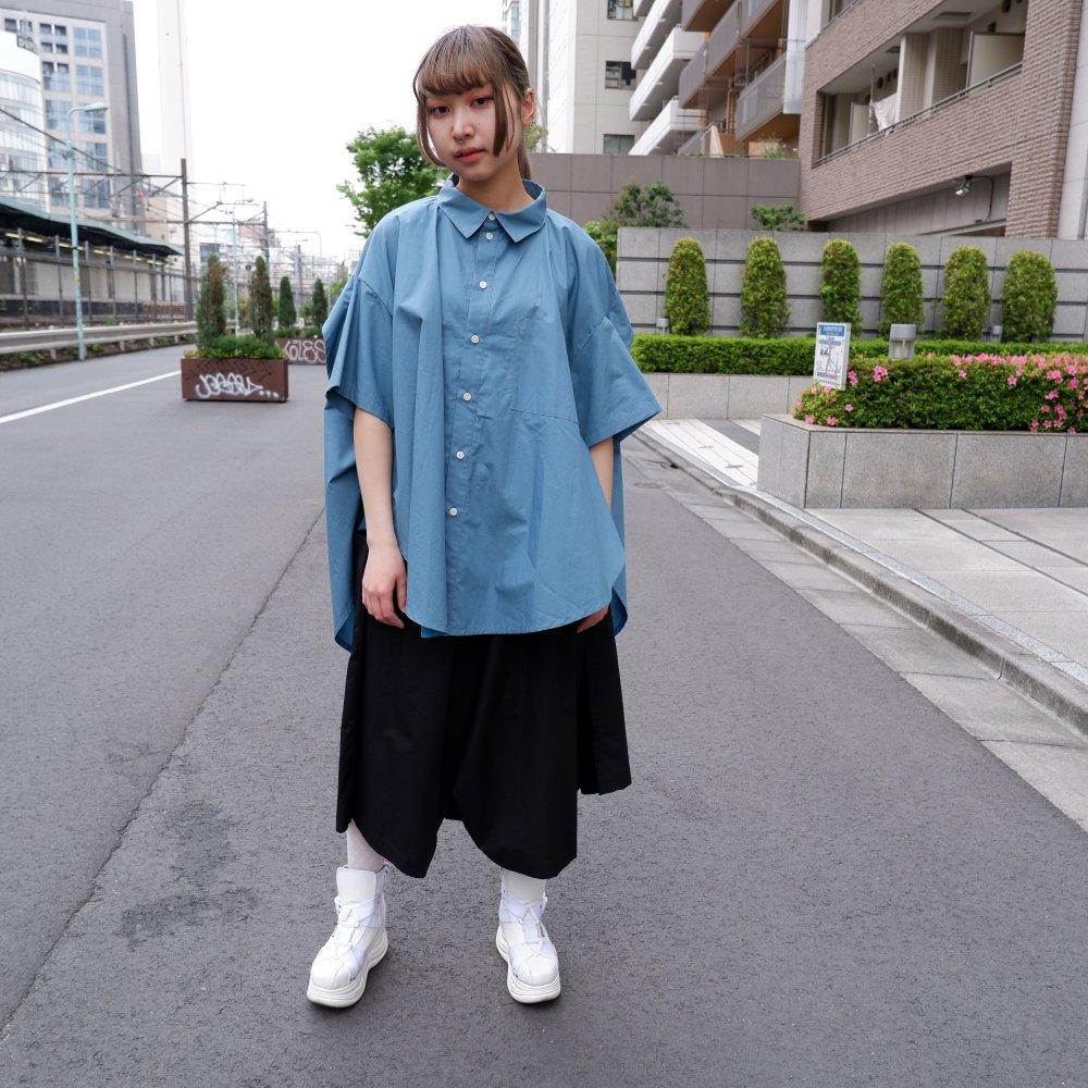 【RIDDLEMMA】Circle edge shirt Φ80 BLUE