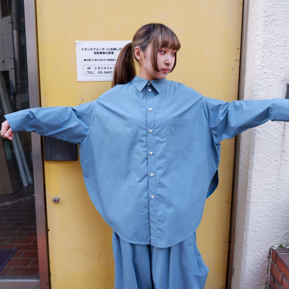 【RIDDLEMMA】Circle shirt Φ80 BLUE
