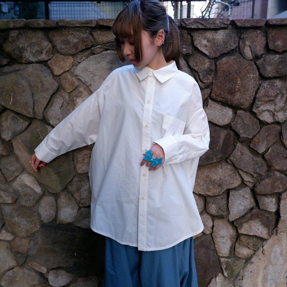 【RIDDLEMMA】Circle shirt Φ80 WHITE