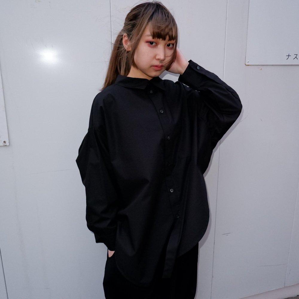 【RIDDLEMMA】Circle shirt Φ80 BLACK