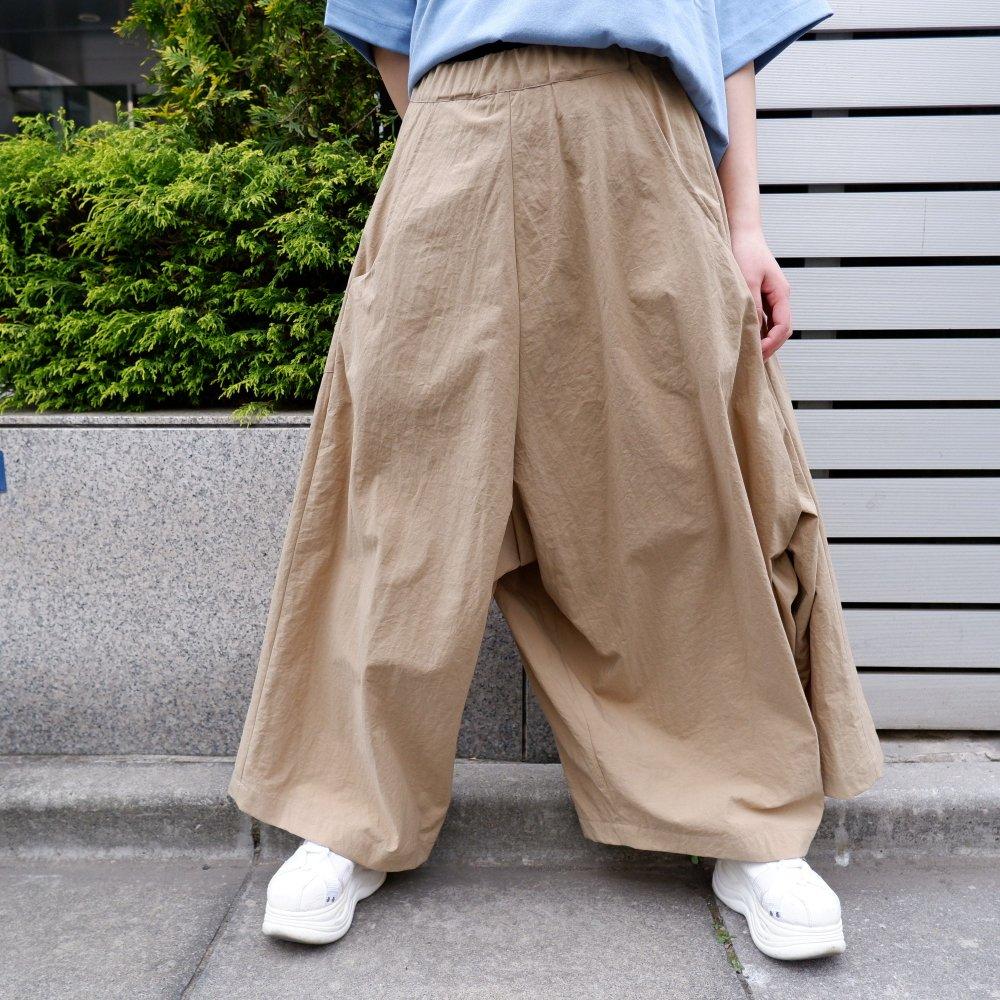 【RIDDLEMMA】Three legs pants(long) BEIGE NYLON100%