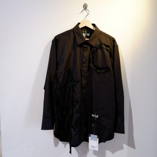 +【TSUNG YU CHAN】 #C16 shirt /black
