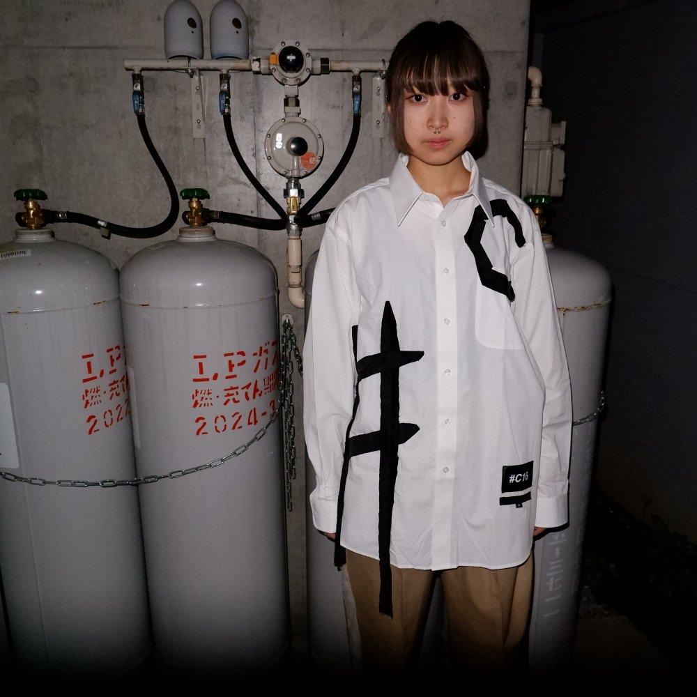 +【TSUNG YU CHAN】 #C16 shirt /white