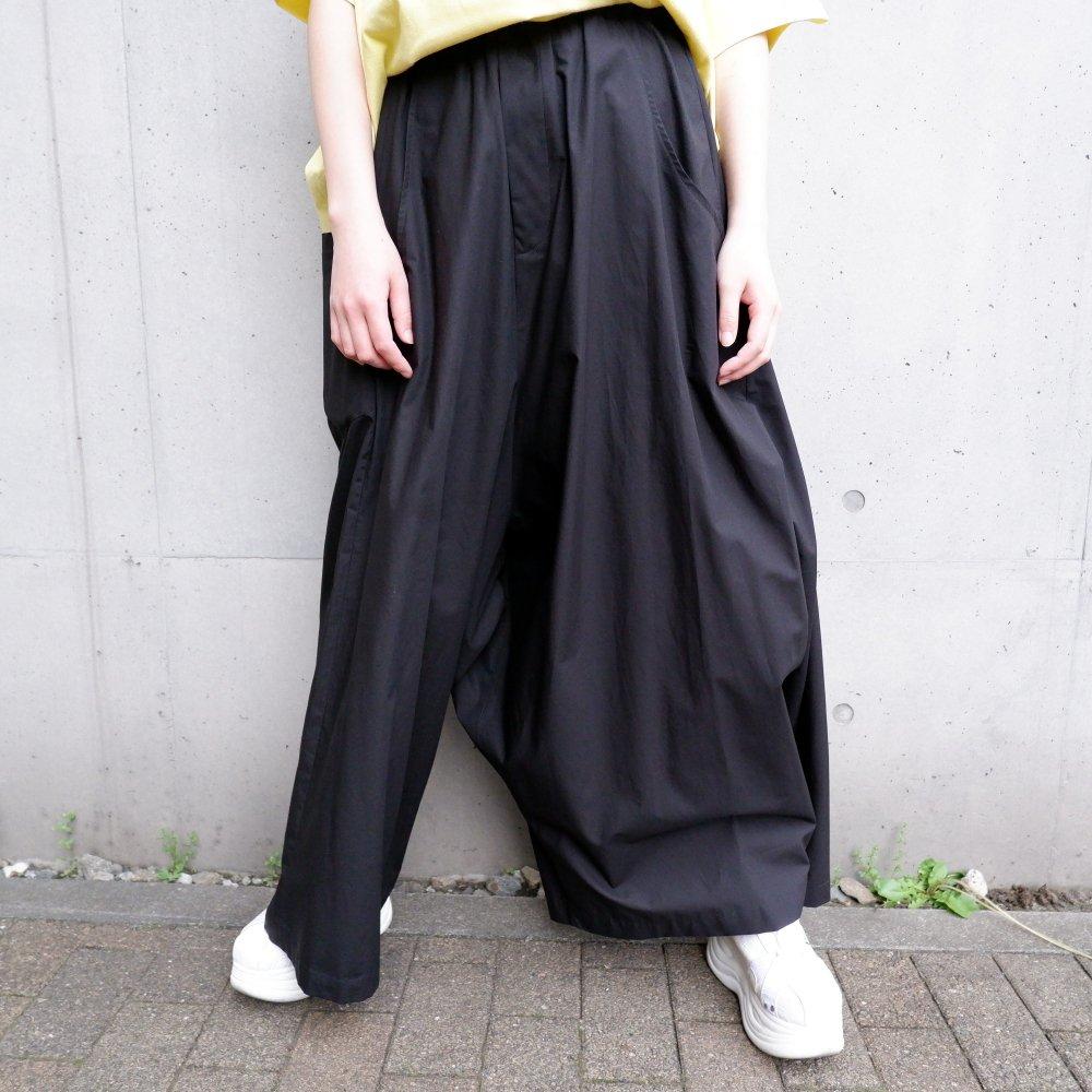 【RIDDLEMMA】Three legs pants(long)BLACK COTTON100%