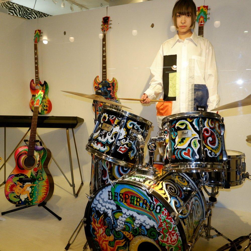 +【TSUNG YU CHAN】 patchwork shirt