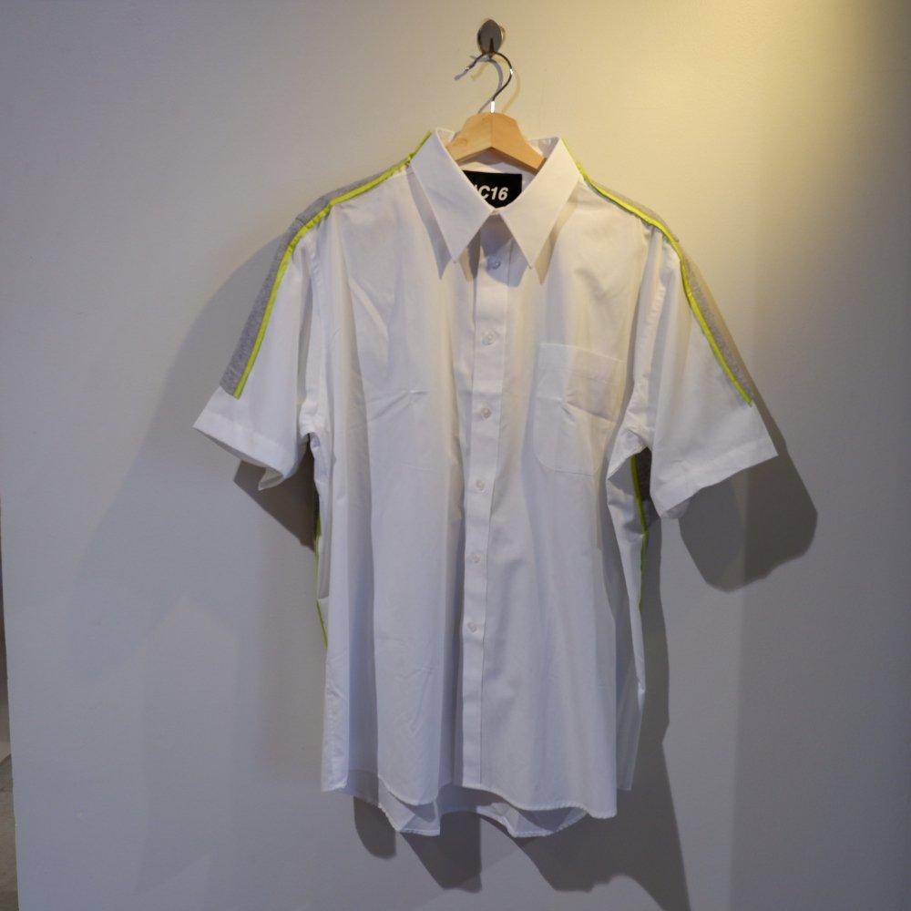 +【TSUNG YU CHAN】 back sweat white shirt