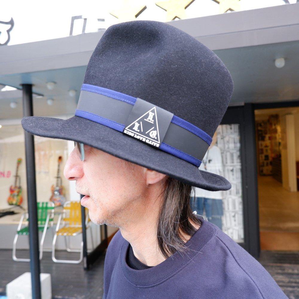 【KIDS LOVE GAITE】MOUNTAIN HAT BK