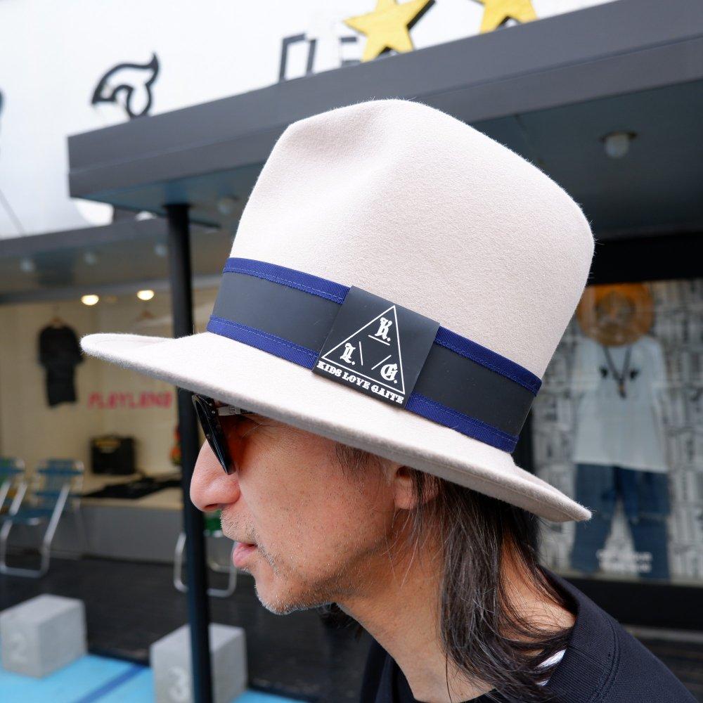 【KIDS LOVE GAITE】MOUNTAIN HAT WH