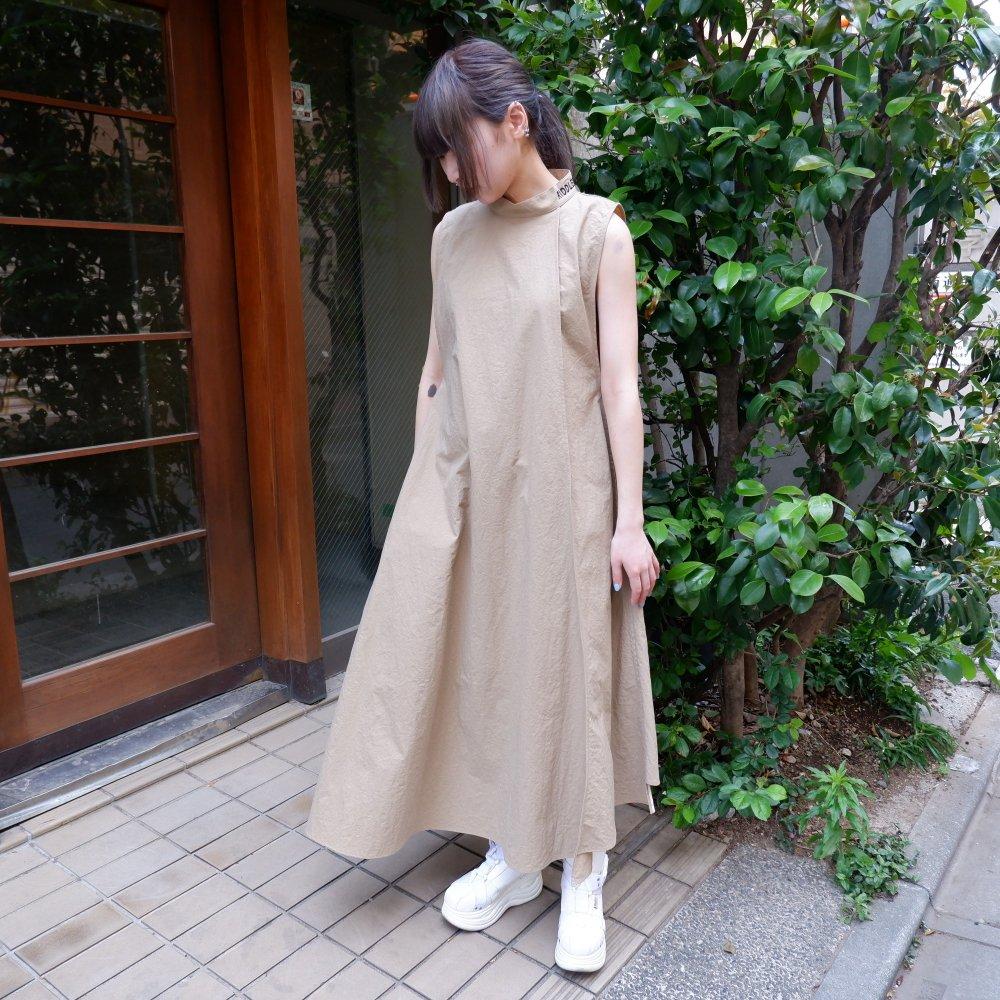 【RIDDLEMMA】Shape dress BEIGE