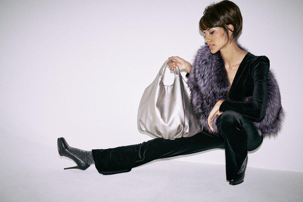 【HELOYSE】balloon bag leather