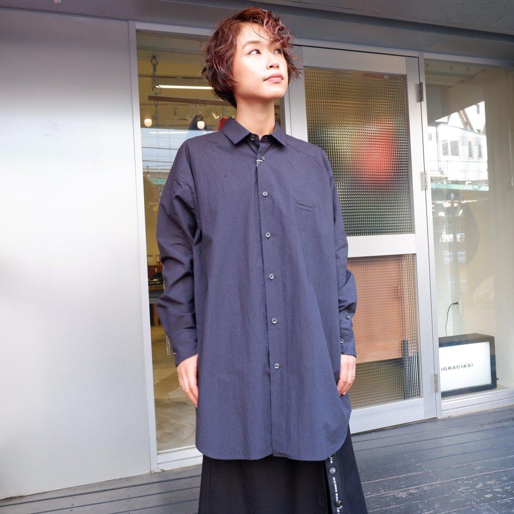 <img class='new_mark_img1' src='https://img.shop-pro.jp/img/new/icons1.gif' style='border:none;display:inline;margin:0px;padding:0px;width:auto;' />【Dulcamara】 ヨークスリーブシャツT  BLACK NAVY