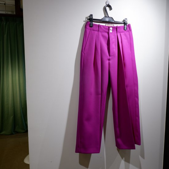 <img class='new_mark_img1' src='https://img.shop-pro.jp/img/new/icons1.gif' style='border:none;display:inline;margin:0px;padding:0px;width:auto;' />【PLAN C】 CADY WIDE TROUSERS