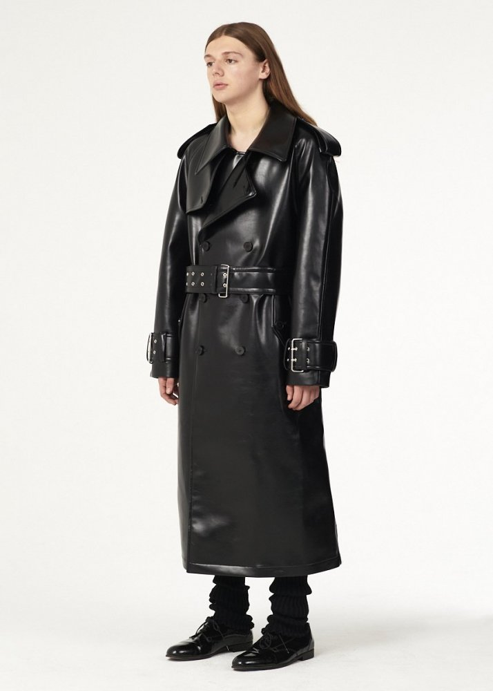 <img class='new_mark_img1' src='https://img.shop-pro.jp/img/new/icons1.gif' style='border:none;display:inline;margin:0px;padding:0px;width:auto;' /> 【Vaquera】 TRENCH COAT