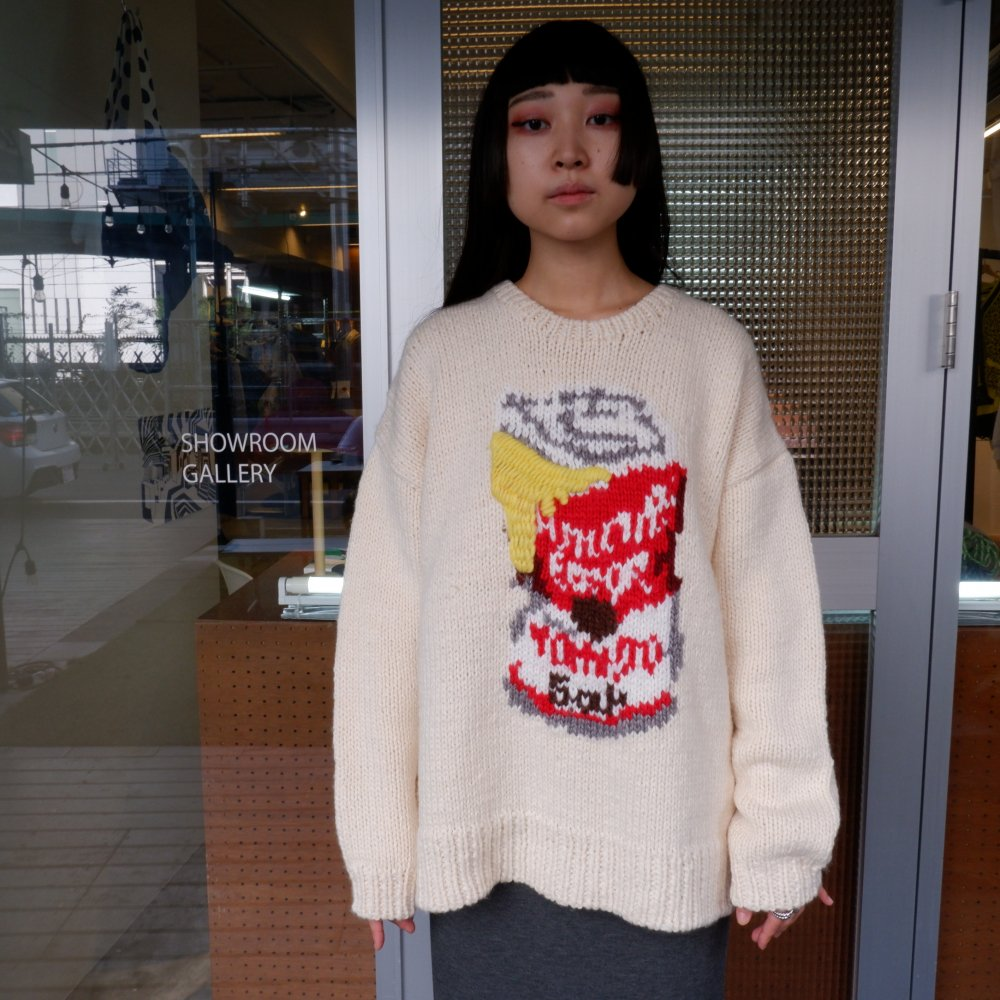 <img class='new_mark_img1' src='https://img.shop-pro.jp/img/new/icons1.gif' style='border:none;display:inline;margin:0px;padding:0px;width:auto;' />【AMOK】ERROR SOUP CANS KNIT