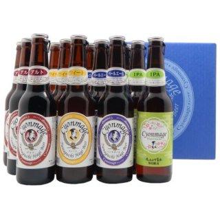 (地ビール)岸田商会【チョンマゲビール】IPA入4種12本セット