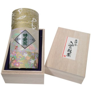 品評会入賞茶(化粧缶・桐箱入り) 100g