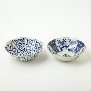 輪花菓子鉢
