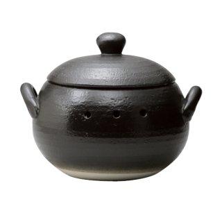 日常茶飯器 黒吹き 焼いも器(石付)