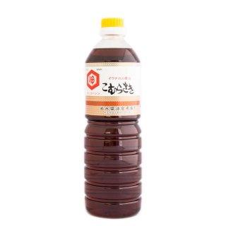 岩永醤油 うすくちしょうゆ【こむらさき】1L