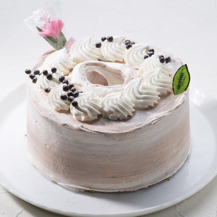 シフォン ケーキ チョコ コツを押さえて チョコレートシフォンケーキ