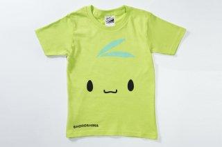Tシャツ(ライトグリーン・全面)キッズ