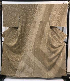 川村久太郎 訪問着 江戸小紋柄 身丈160cm 裄69cm 袖丈49cm