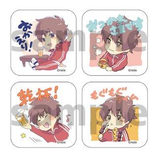 【ひらかわんち3】スタンプ柄缶バッジ(バラ売りランダム)