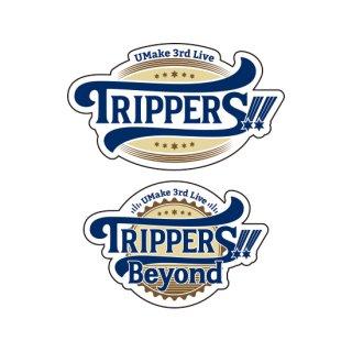 【TRIPPERS!!/Beyond】イベントロゴステッカー/UMake