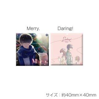 【UMake 4th Live】ジャケット柄スクエア缶バッジ/UMake