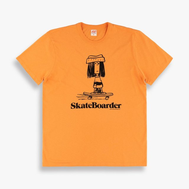 SKATEBOARDER TEE<img class='new_mark_img2' src='https://img.shop-pro.jp/img/new/icons50.gif' style='border:none;display:inline;margin:0px;padding:0px;width:auto;' />