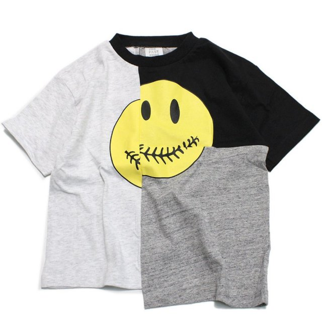<img class='new_mark_img1' src='https://img.shop-pro.jp/img/new/icons14.gif' style='border:none;display:inline;margin:0px;padding:0px;width:auto;' />Kid's BROKEN SMILE TEE