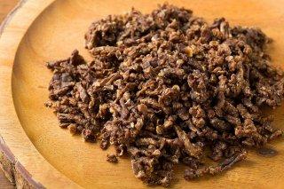 ペット犬用 鹿ミンチ肉のカリカリ 100g 1パック
