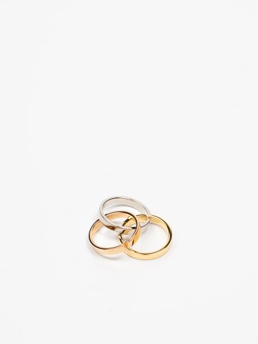 TRE CASSIO RING ゴールド/ローズゴールド/シルバー リング 指輪