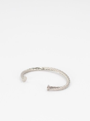 Twist Ring Series4 Rope Bracelet シルバー