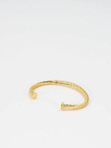Twist Ring Series4 Rope Braceletゴールド